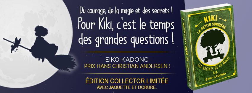 Kiki la petit sorcière Roman tome 2 chez Ynnis
