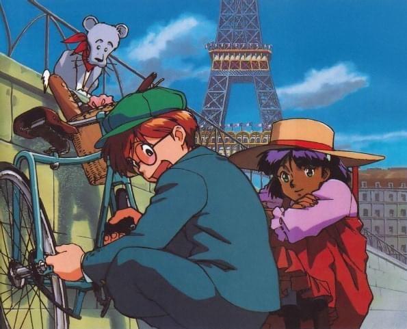 Nadia le Secret de l'Eau Bleue Jean et Nadia dans Paris