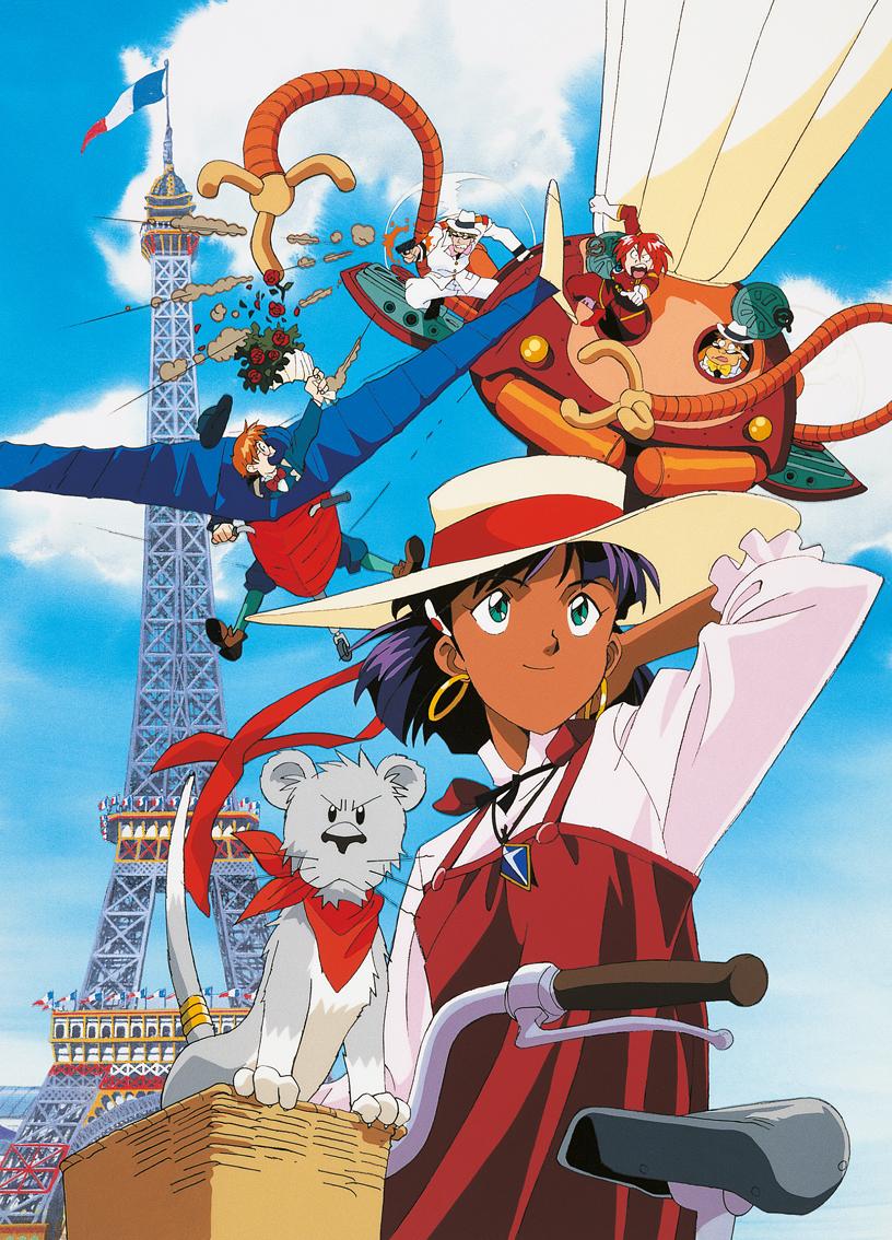 Nadia le Secret de l'Eau Bleue Tour Eiffel