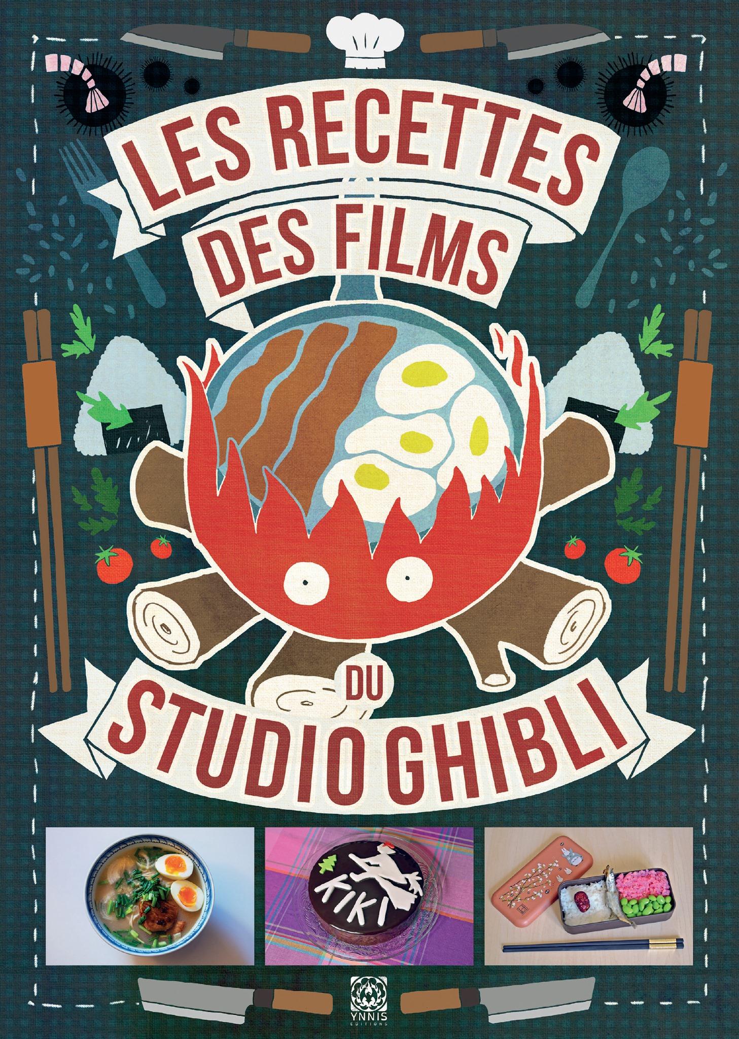 Les Recettes des films du Studio Ghibli couverture recto