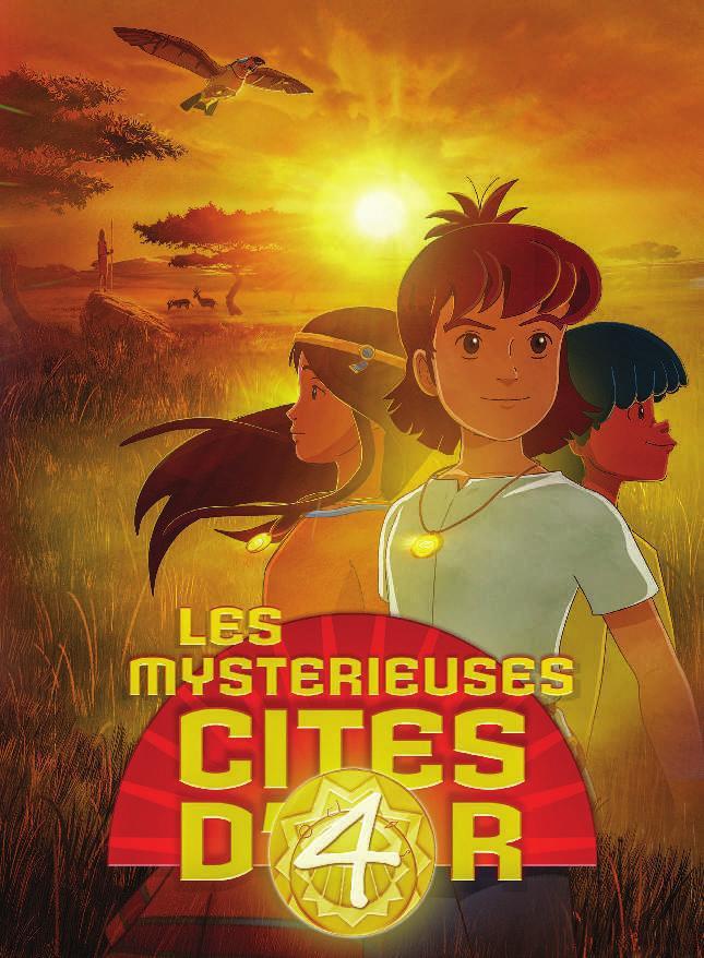 Les Mystérieuses Cités d'Or (Les) (Saison 4) affiche