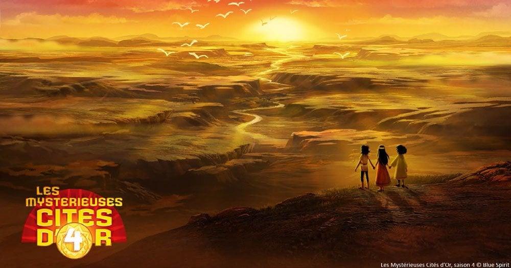 Les Mystérieuses Cités d'Or (Les (Saison 4) paysage