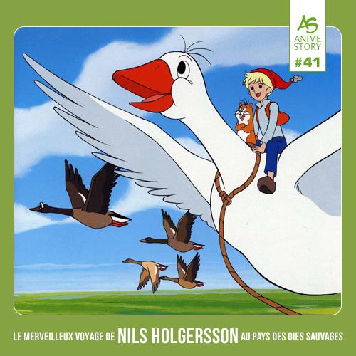 Anime Story 41 Nils Holgersson ニルスのふしぎな旅 Le Merveilleux Voyage de Nils Holgersson au Pays des Oies Sauvages