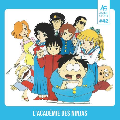Anime Story 42 L'Académie des Ninjas さすがの猿飛 Sasuga no Sarutobi