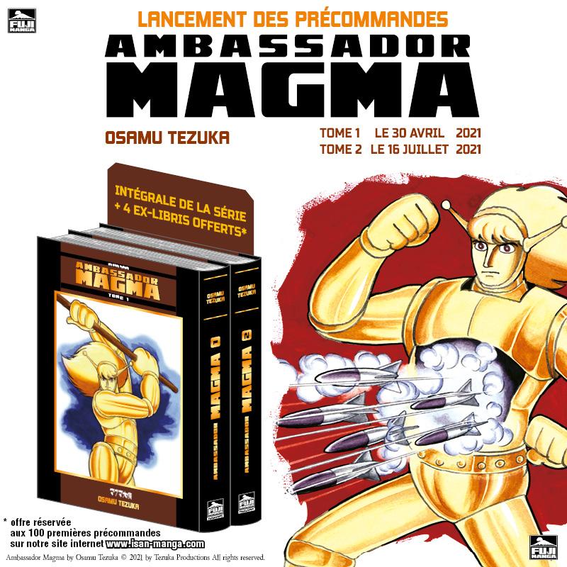 Ambassador Magma Précommandes
