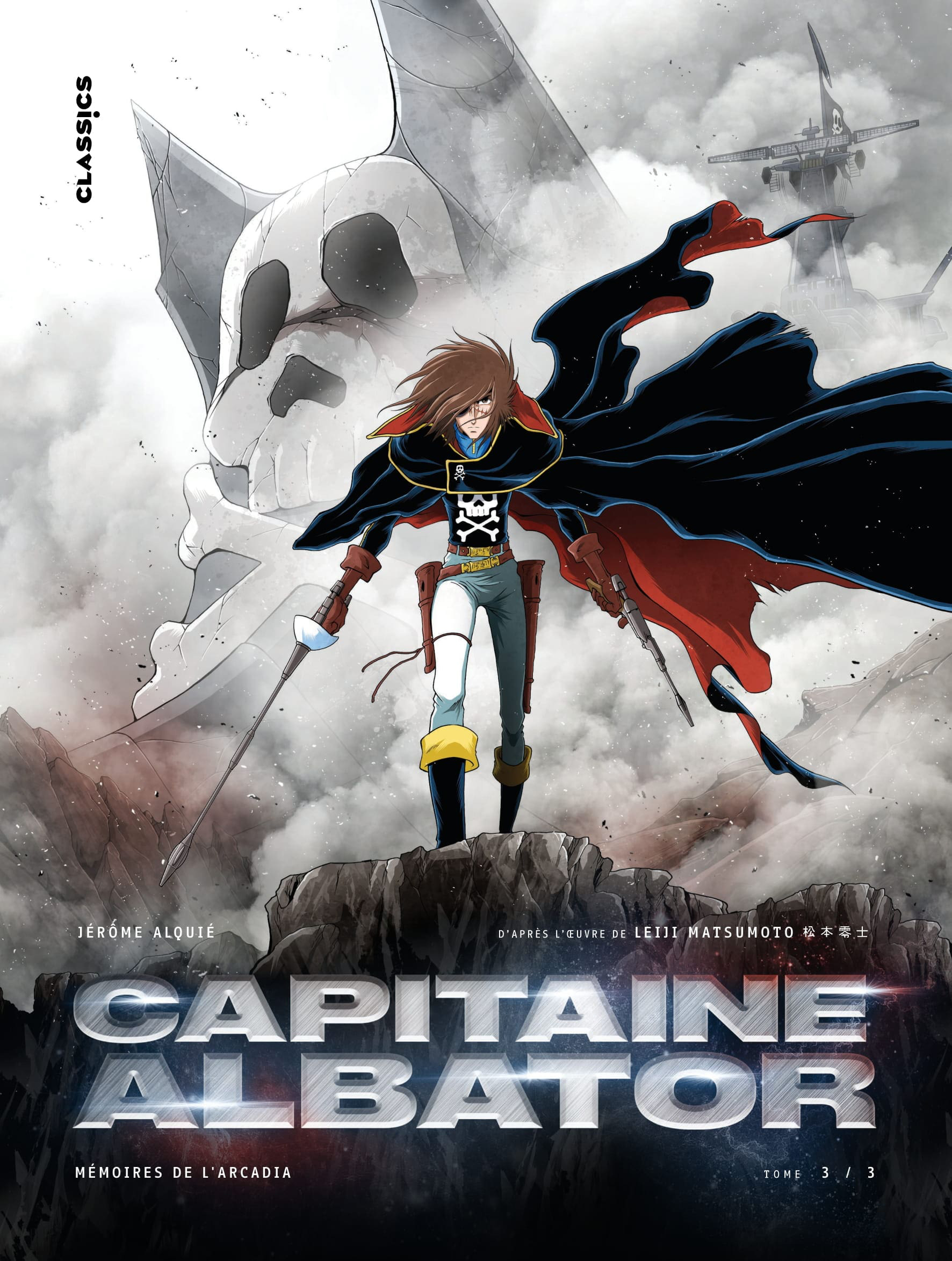 Capitaine Albator Mémoires de l'Arcadia tome 3