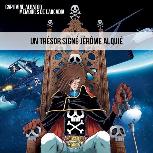 Capitaine Albator Mémoires de l'Arcadia vignette accueil
