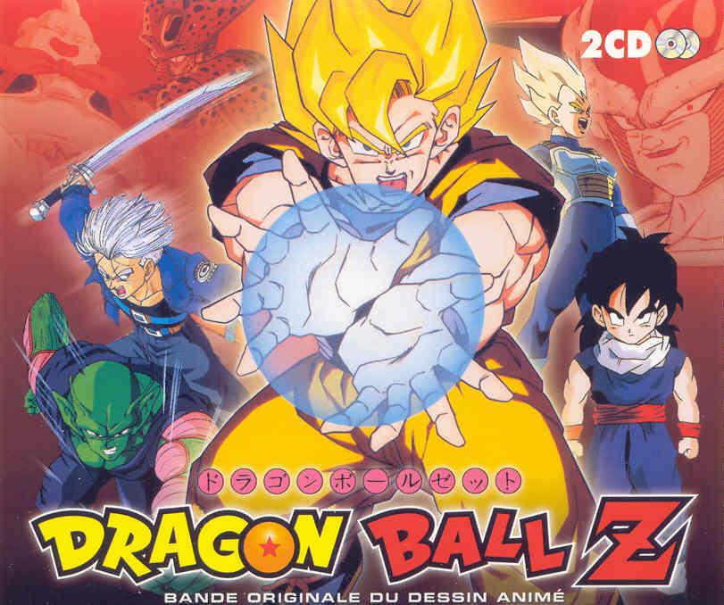 Dragon Ball Z bande originale éditée chez Loga Rythme